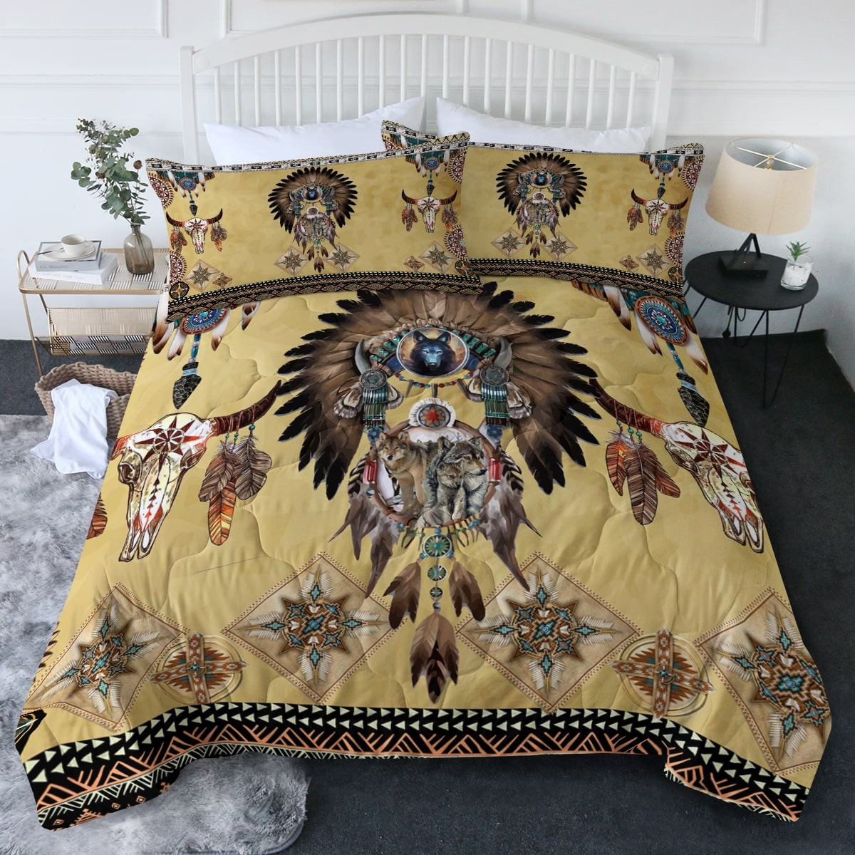 Totem Spirits Comforter Bedding Set