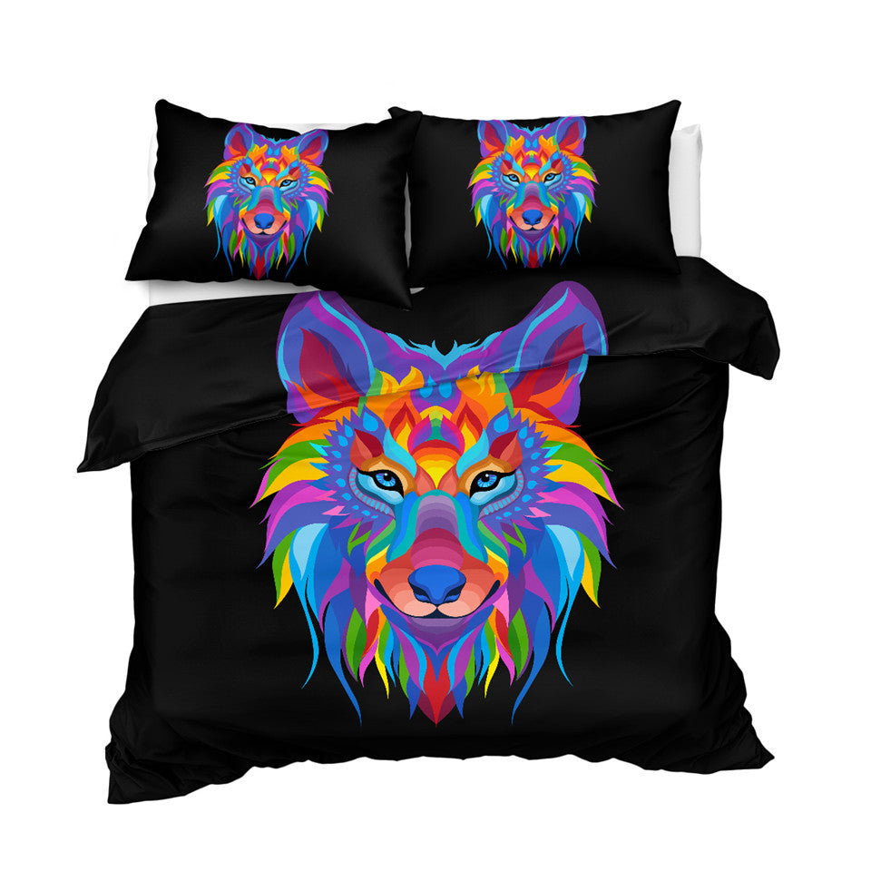 SWBJ2086 Wolf Bedding Set