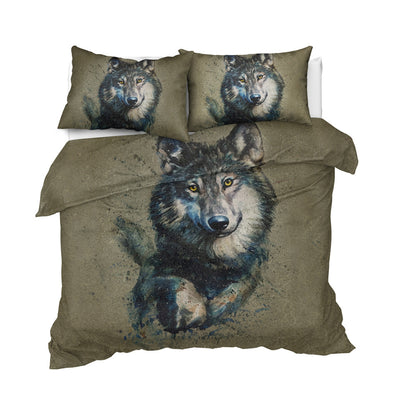 Your Guardian Wolf Bedding Set