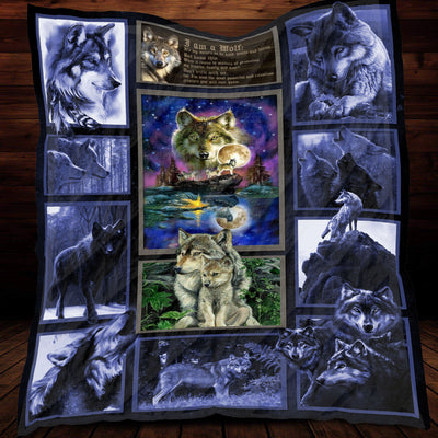 Code of the Wolf Sherpa Blanket
