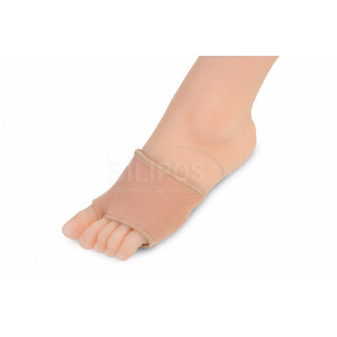 SILIPOS UNIVERSAL GEL FOOT STRAP COVERED (PAIR) S/M