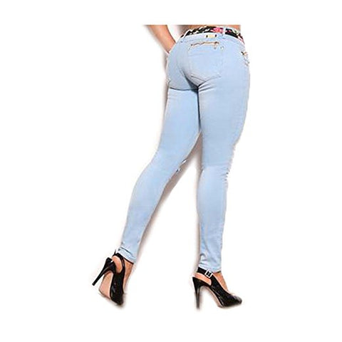 Moda Jeans Avalon 100% Made in Colombia Butt Lifter Women Jeans- Pantalones Colombianas Levantacola- Denim 9299