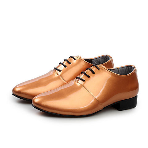 Mens Trendy Shiny Dress Shoes
