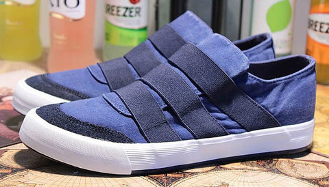 Mens Cool Elastic Slip-On Casual Shoes