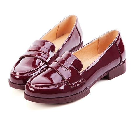 Womens Sleek Loafer Casual Shoes
