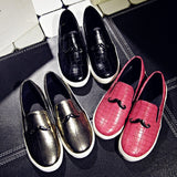 Womens Casual Hip Slip-On Sneakers