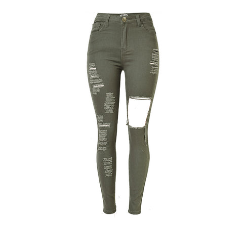Urban Ripped High Waist Skinny Jeans