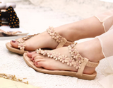 Womens Pretty Flower Casual Sandals