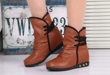 Womens Cool Casual Leather Boots