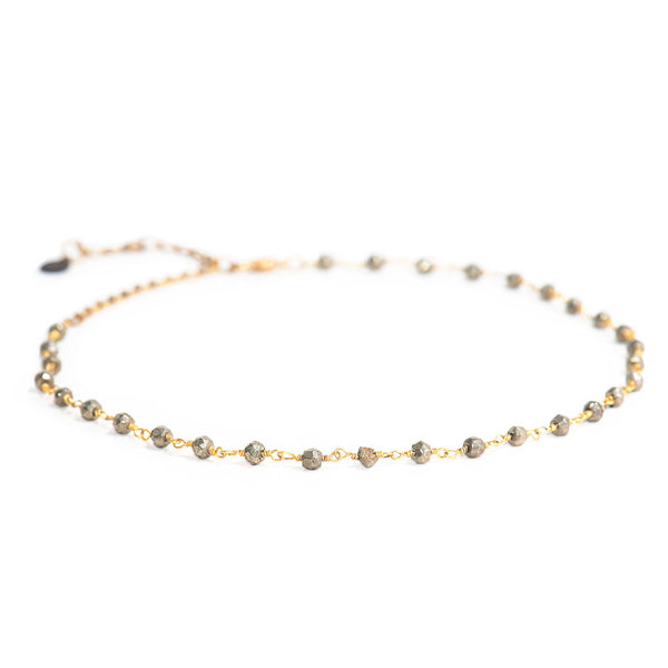 Gemstone Satellite Choker