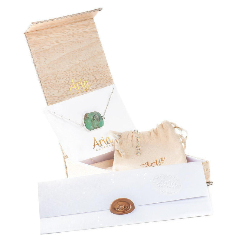 Aria Set (Necklace, Studs, Ring)-Gift Set-Aria Lattner