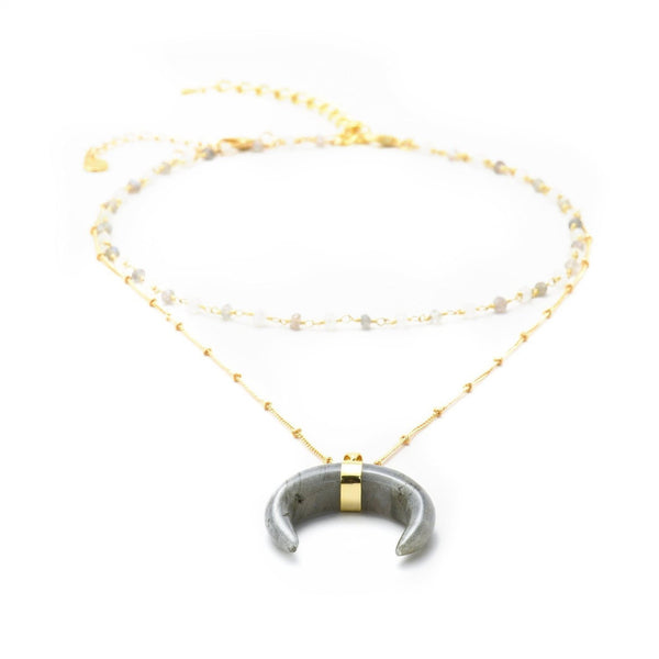 Aubrey Layered Necklace-Necklace-Aria Lattner
