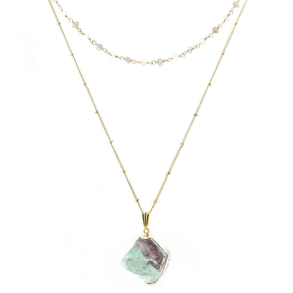 Ava Layered Necklace-Necklace-Aria Lattner