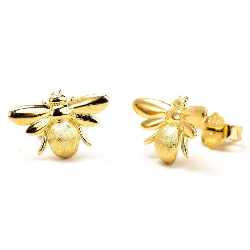 Bumblebee Studs-Earrings-Aria Lattner