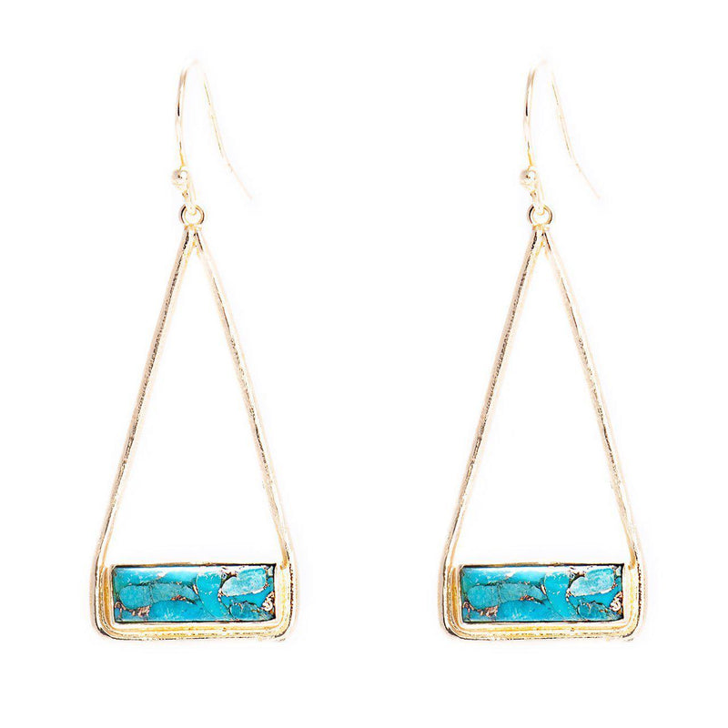 Charlotte Earrings (Gold)-Earrings-Aria Lattner