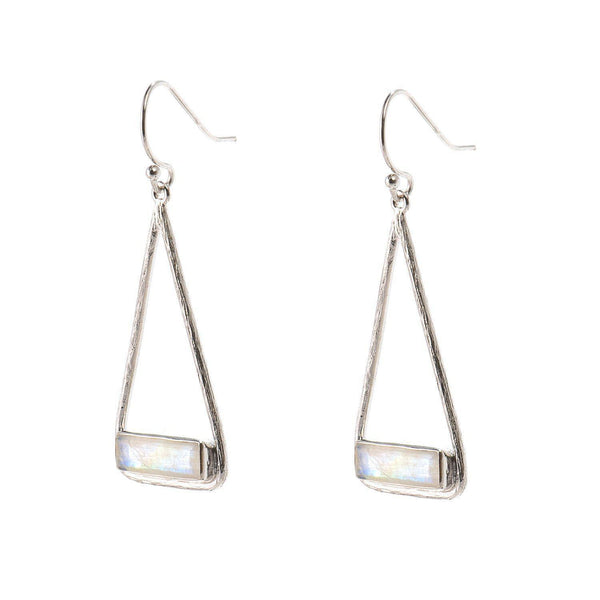 Charlotte Earrings (Silver)-Earrings-Aria Lattner