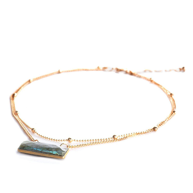 Daniela Layered Choker-Necklace-Aria Lattner