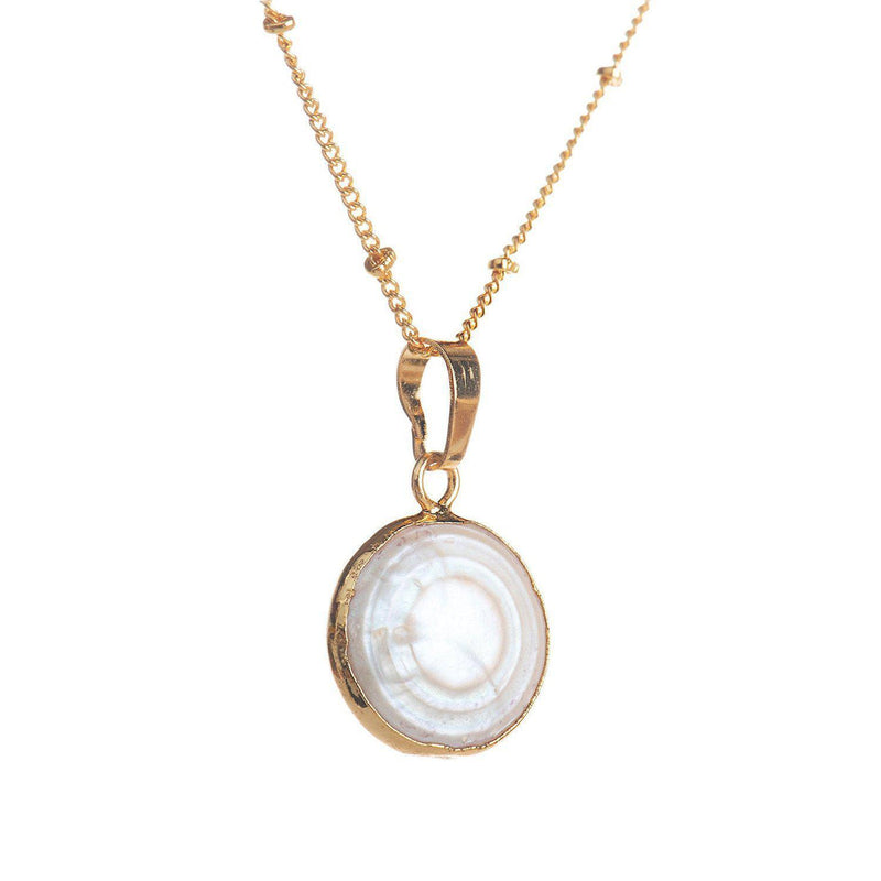 Full Moon Necklace-Necklace-Aria Lattner