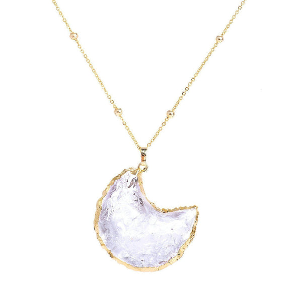 Ice Moon Necklace-Necklace-Aria Lattner