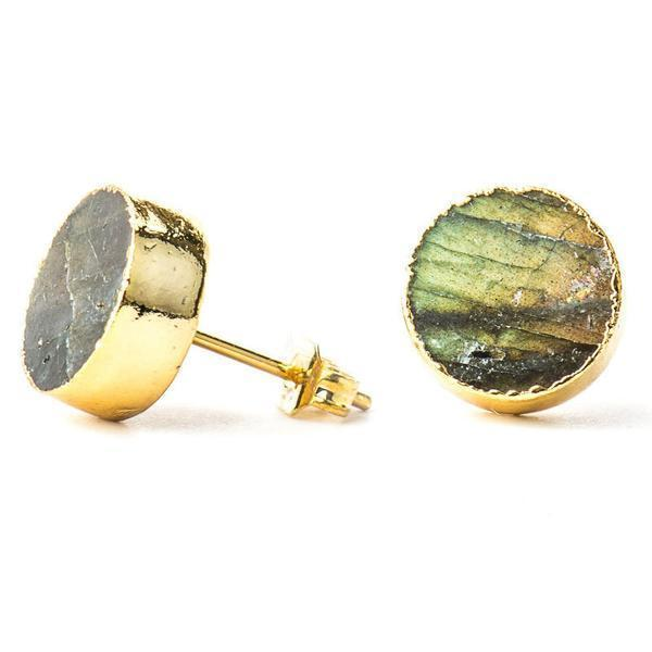 Intuition Stone Studs-Earrings-Aria Lattner