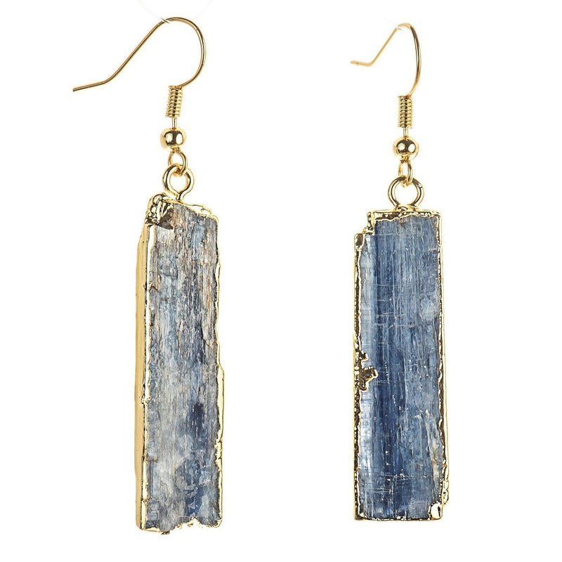 Kyanite Earrings-Earrings-Aria Lattner