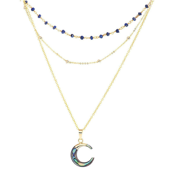 Luna Layers Necklace-Necklace-Aria Lattner