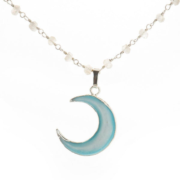Moon Child Choker-Necklace-Aria Lattner