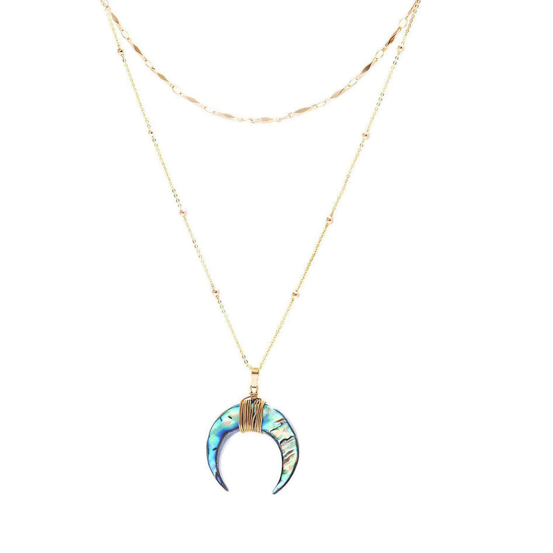 Nova Layered Necklace-Necklace-Aria Lattner