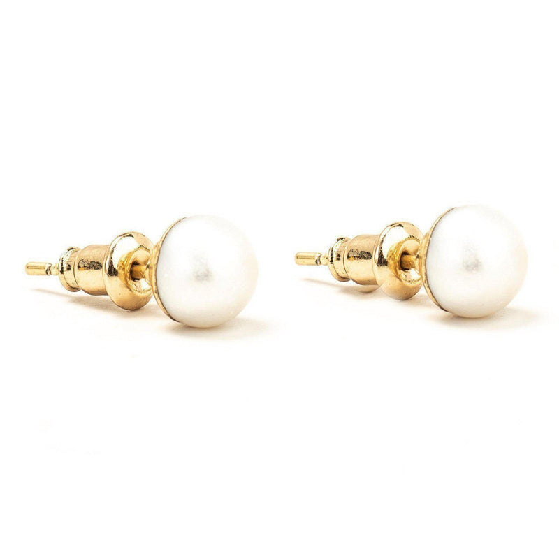 Pearl Stud Earrings-Earrings-Aria Lattner