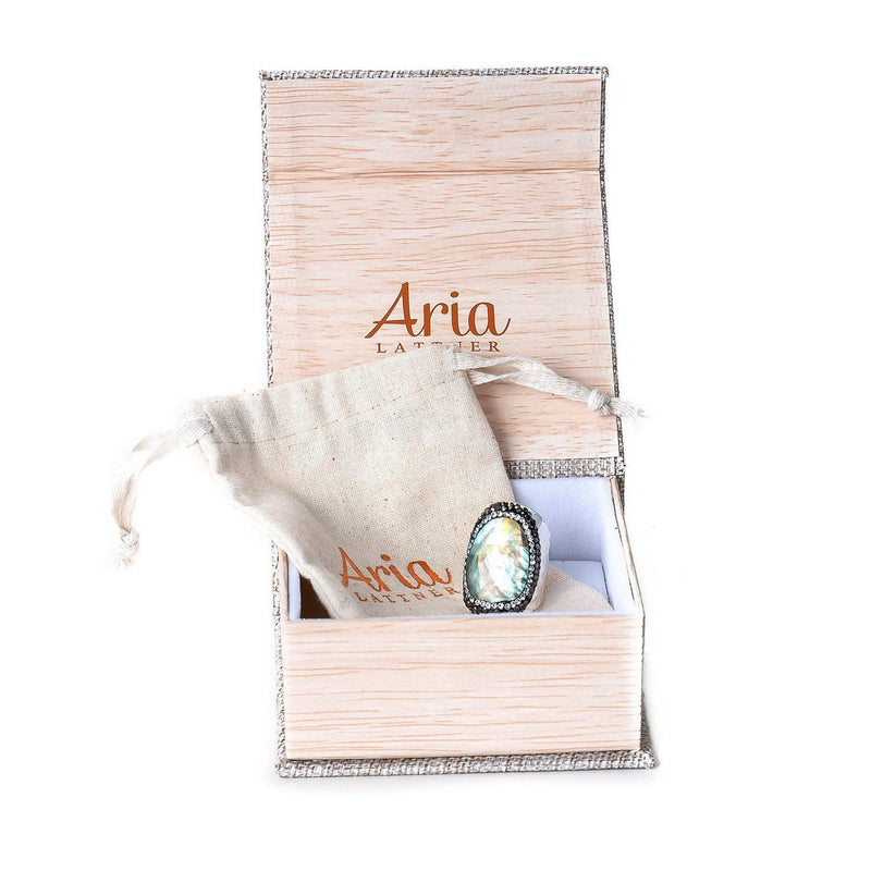 Pearl Wrap Ring-Ring-Aria Lattner
