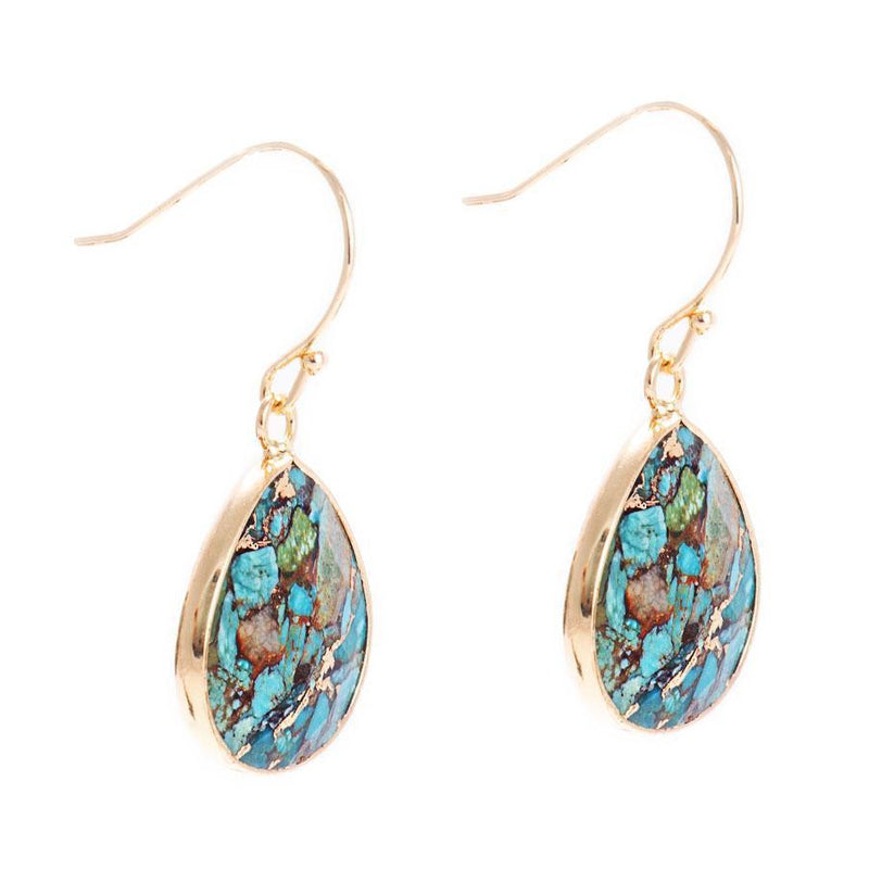 Samantha Drop Earrings-Earrings-Aria Lattner