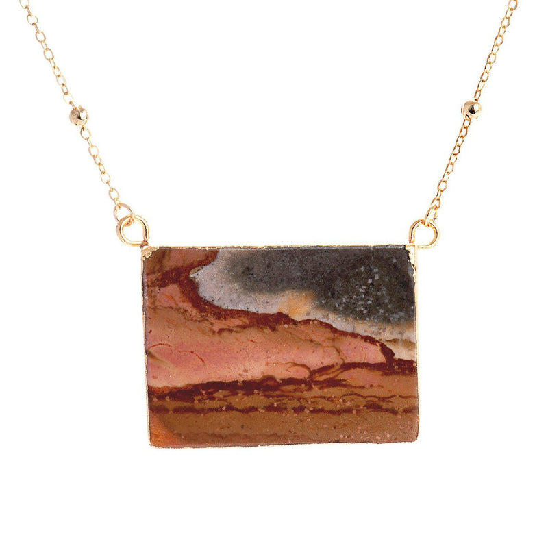 Santa Fe Necklace-Necklace-Aria Lattner