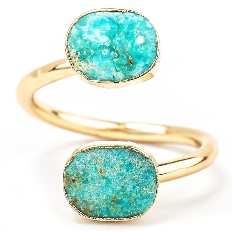 Twin Lakes Turquoise Ring-Ring-Aria Lattner