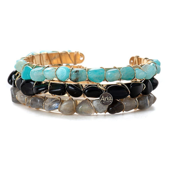 Zoey Bangle-Bracelet-Aria Lattner