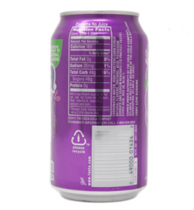 Fanta Grape Flavored Soda (355ml)