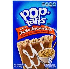 Kellogg's Pop Tarts Chocolate Chip Cookie Dough (8 Pack)