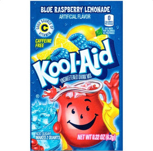 Kool Aid Unsweetened Ice Blue Raspberry (6g)