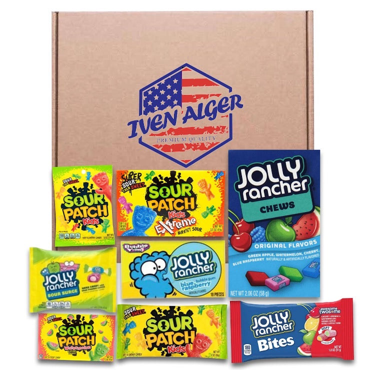 USA Sour Patch And Jolly Rancher Selection