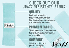 JRAZZ RESISTANCE BANDS MINT PLEASE SELECT A SIZE