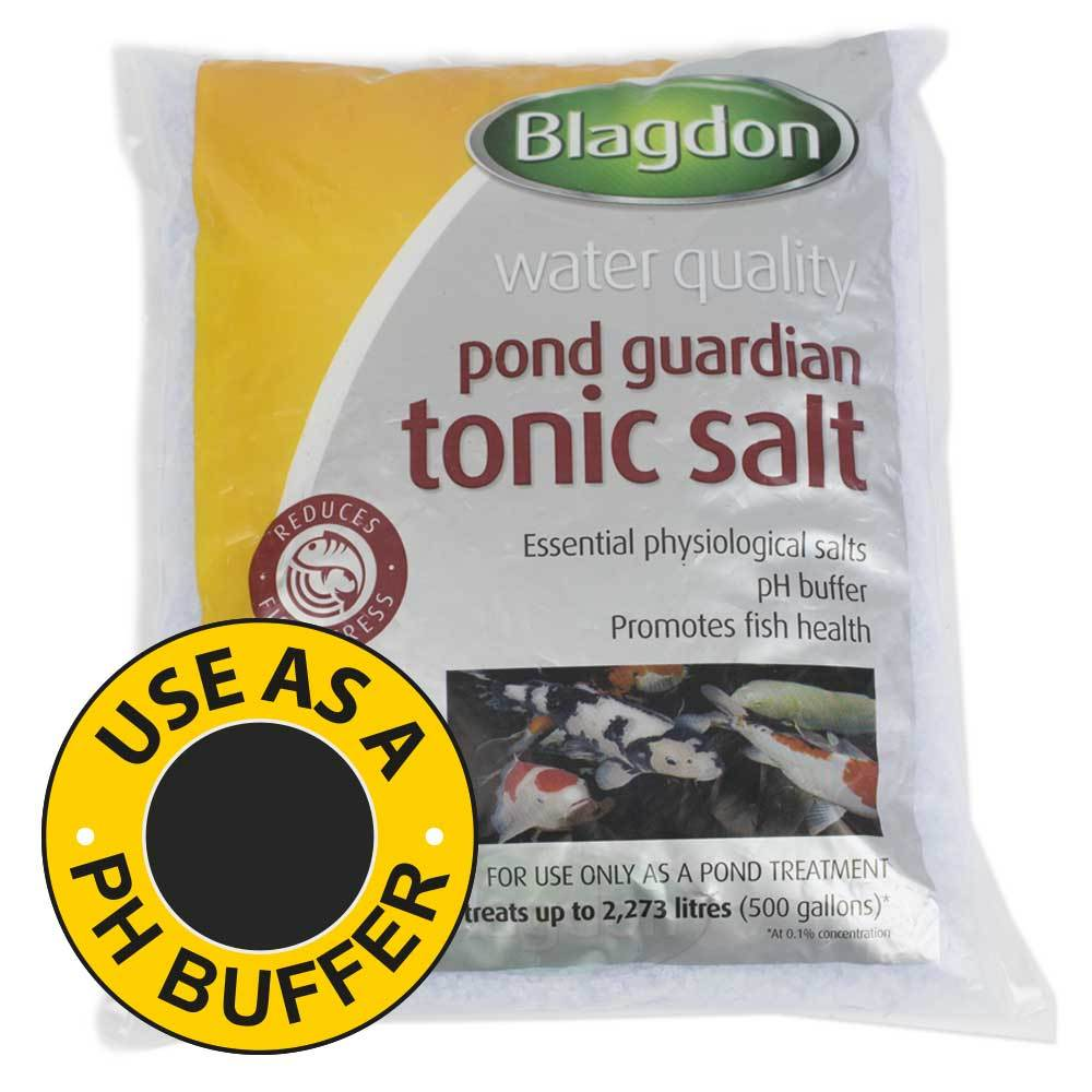 Blagdon Pond Guardian Tonic Salt Small - pH Buffer -2.3 Kg - Pond - Browns Pet Range