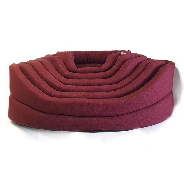 BRAND NEW Brown's Luxury High Sided Dog Bed - Claret (Size Varieties) - Dog Accessories - Browns Pet Range