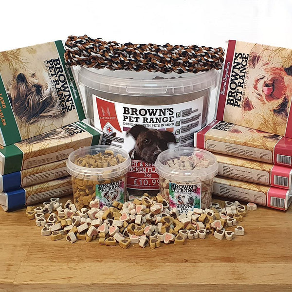 Brown's Hearty Dish Signature Bundle | Sensitive Stomachs -  - Browns Pet Range