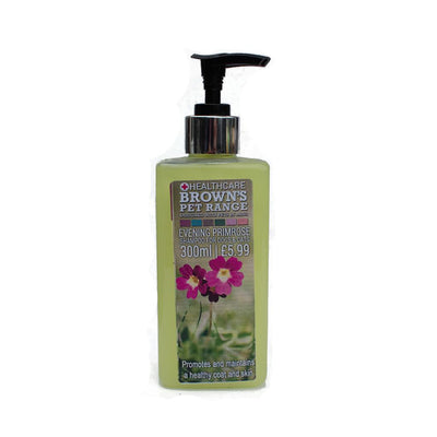 Brown's Evening Primrose Shampoo 300ml - Shampoo - Browns Pet Range