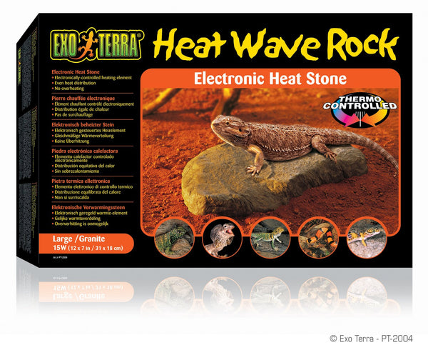 Exo Terra Heat Wave Rock Large - Reptile Accessories - Browns Pet Range
