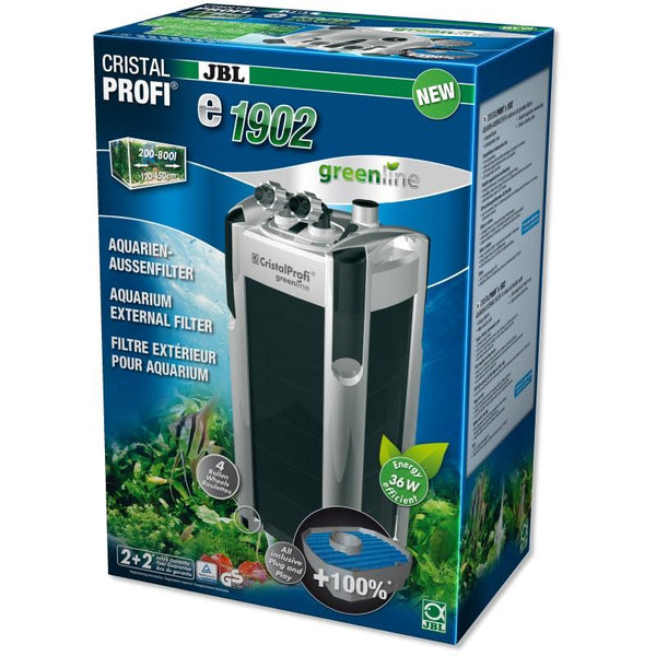 JBL CristalProfi e1902 Greenline | External filter for aquariums from 200 - 800 litres