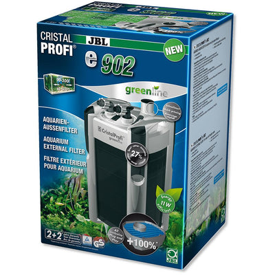 JBL CristalProfi e902 Greenline | External filter for aquariums from 90 - 300 litres - External Filter - Browns Pet Range