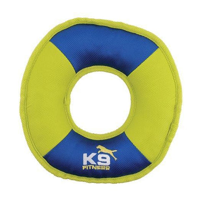 K9 Fitness by Zeus | Tough Nylon Discus - 24.1 cm dia. (9.5 in dia.) - Dog Toys - Browns Pet Range