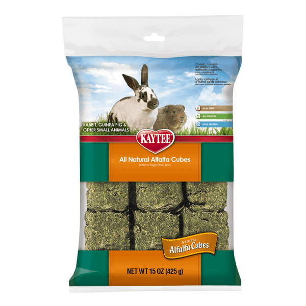Kaytee Alfalfa Cubes (425g) - Small Animal Ball - Browns Pet Range