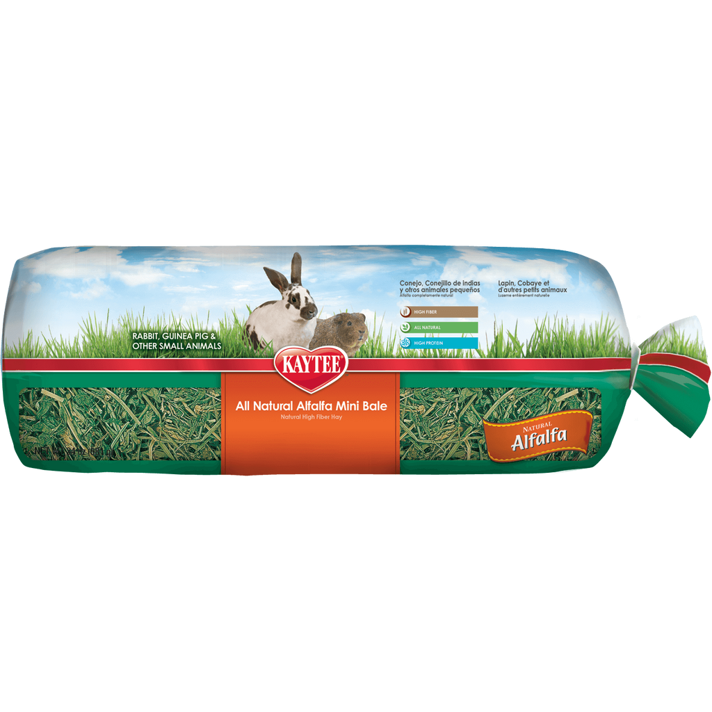 Kaytee Alfalfa Mini Bale (680g) - Small Animal Ball - Browns Pet Range