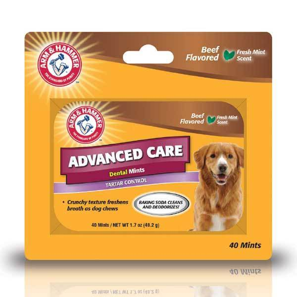 NEW Arm & Hammer Advance Care Dental Mints (Beef) - Dental Hygiene - Browns Pet Range